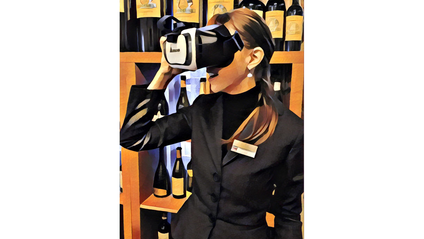Wine and Beverage Lecturer at César Ritz Colleges Switzerland, Pairing wine with virtual reality