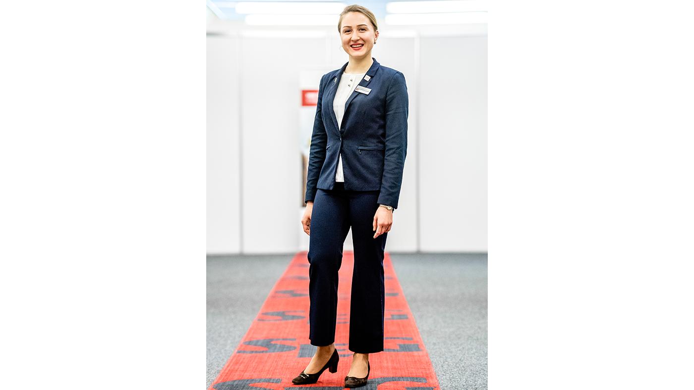 Binny Varghese Bachelor of Arts in Hotel Management.